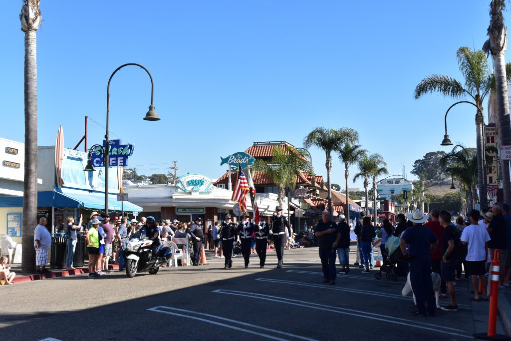 2018 Pismo Beach Clam Festival Parade Route