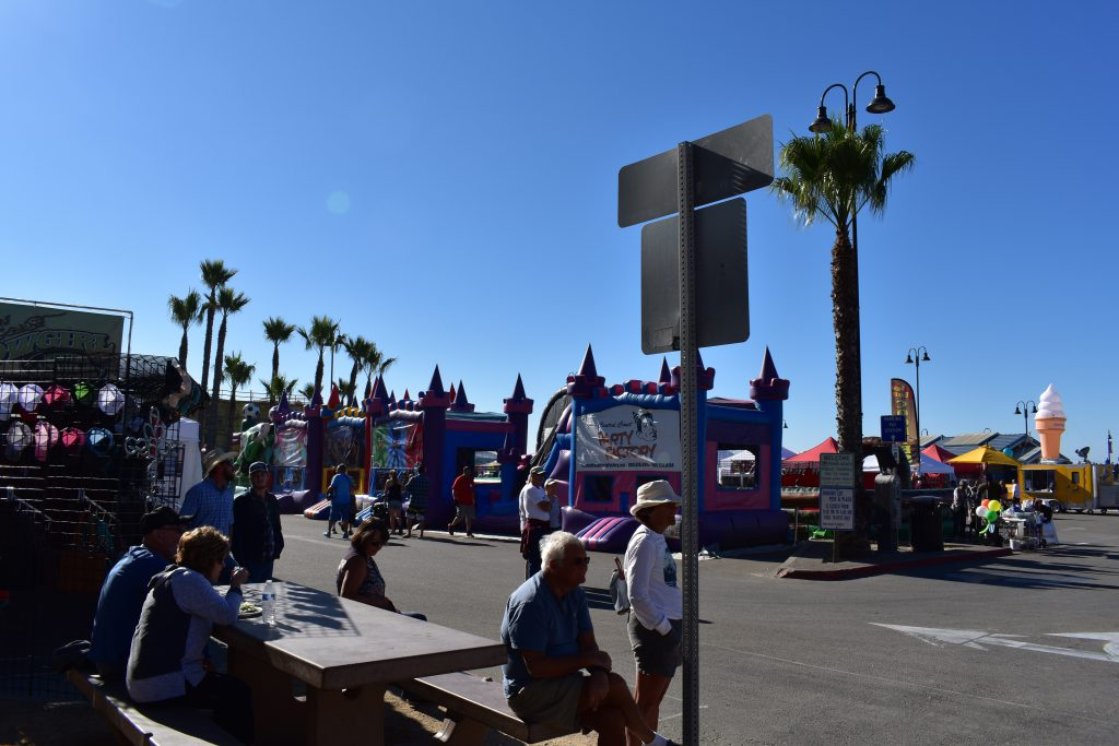 Kids' Zone at 2018 Pismo Beach Clam Festival