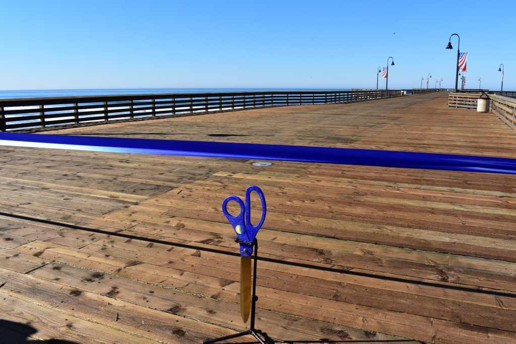 The Official City of Pismo Beach Ribbon Cutting Scissors