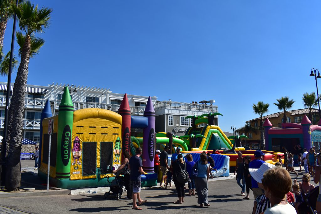2018 Pism Beach Clam Festival Kids' Zone